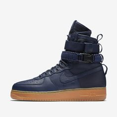 e5bfda593fb High-top sneakerboot with leather upper and canvas heel panel. Two ankle  straps, rubber sole unit
