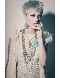 Coupe de cheveux courte pour cheveux fins printemps été 2015 - Les plus belles coupes courtes de Pinterest - Elle