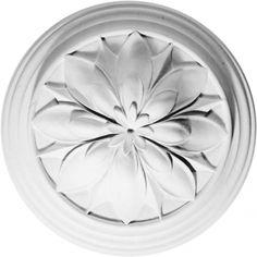 Locker & Riley - Plaster Ceiling Roses: CC18 #Hallway