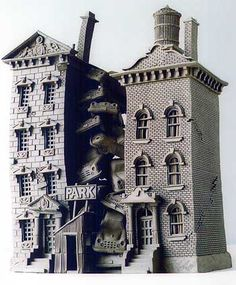 Park - Buildings - Gallery - John Brickels, Architectural Sculpture and Claymobiles, Essex Jct, Vermont