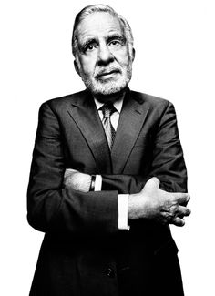 Carl Icahn (1936) - American businessman and investor.  When you have no one to answer to, vendetta as investment strategy is as legitimate as anything.