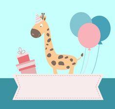 #girafa #bexiga #balões #presentes #aniversário