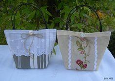 Nouvelle collection petit sac de lavande de Provence esprit chic et élégant Réf LAV M01 : Accessoires de maison par chiffons-de-provence