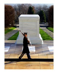 Tomb of the Unknown Soldier - a must see when in DC