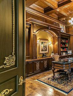 Large home office, b