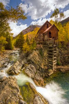 Standing proud and tall high above Marble, Colorado, the Old Crystal Mill silently watches over the ghost town of Crystal. Once a thriving mining town, Crystal is now only a few scenic buildings that give us a glimpse into a century passed. | Stephen W. Oachs Photography