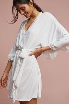 Eberjey Kiss Kimono Robe