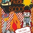 Our current heat unit needed revamping! What better way to review than a good old scoot! Use these 28 cards as review before a test or as CRCT test...