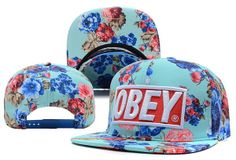 Obey Snapback Casquettes M0061