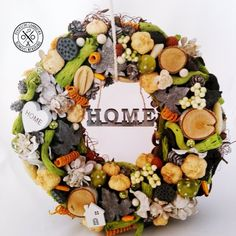 Page not found - Kerekecske Gombocska Kézműves Webáruház Cobb Salad, Floral Wreath, Wreaths, Home Decor, Room Decor, Garlands, Home Interior Design, Decoration Home, Floral Arrangements