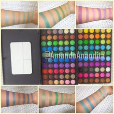 Tips Cantik by Amanda Anandita : BH Cosmetics Palette120 color 2nd edition review swatches