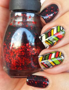 very beautiful nails 2014 | See more nail designs at http://www.nailsss.com/...