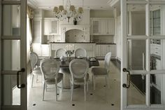 #Kitchen Idea of the Day: Traditional White Kitchen