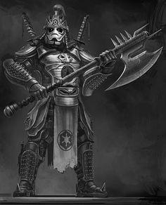 Samurai Storm Trooper.
