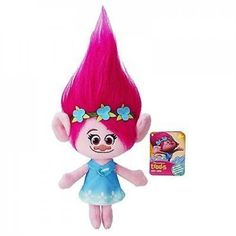 """POPPY PLUSH TROLL DOLL PRICE $10.99 To purchase: comment """"sold"""", size & email"""
