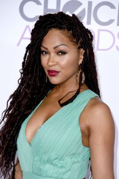 meagan good glowing clear skin natural beauty  beautiful