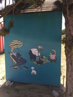 Cabine de plage - Saint Denis d'Oléron Saint Denis, Aquarium, Painting, Cabin, Vacation, Paintings, Aquarius, Draw, Fish Tank