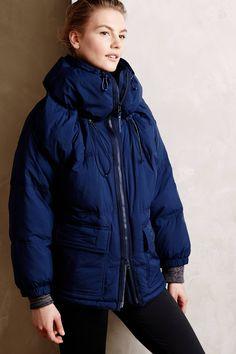 Loving this Stella McCartney + Adidas jacket ... chic, comfy and WARM!!