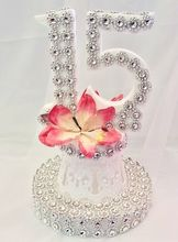 """11"""" Centerpiece or Cake Topper w/15 Design #CP69 (Qty. discount available)"""