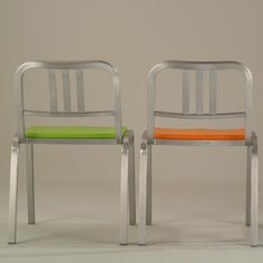 Ettore Sottsass chairs for Emeco