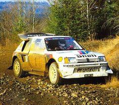 Olympus Rally 1986 Juha Kankkunen.