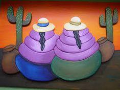Resultado de imagen para PINTURAS COYAS Peruvian Women, Peruvian Art, Wooden Painting, Ceramic Painting, Indian Drawing, Mosaic Tile Art, Heart Pictures, Patch Quilt, Mexican Art