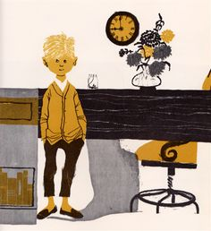 In the shop ....                 Kathy and the Doll Buggy  by Jens Sigsgaard, illustrated by Arne Ungermann. Adapted from the original by K...