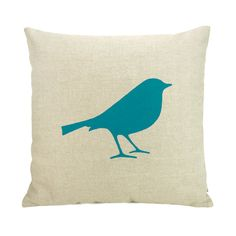 Bird pillow cover from ClassicByNature, Etsy