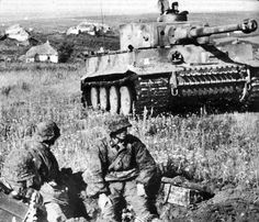 Tiger 1 Ausf E   GLORY. The largest archive of german WWII images   Flickr