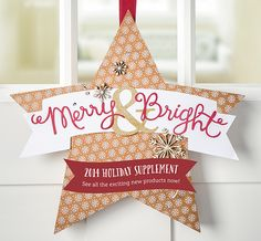 Check out the 2014 Holiday Supplement Catalog to see all of the exciting new products! http://www.stampinup.com/ECWeb/ItemList.aspx?categoryid=2008