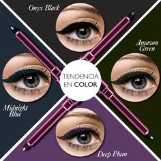 #OriflameTheONE ¡Resalta tu mirada con tu color favorito!