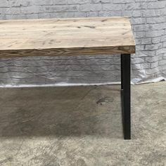 Reclaimed Industrial Chic Dining Table Bar Cafe Restaurant   Etsy Industrial Shelving, Rustic Shelves, Industrial Chic, Grey Ikea Kitchen, Wood And Metal, Solid Wood, Restaurant Furniture, Small Dining, Cafe Restaurant