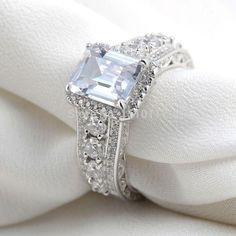 Platinum Plated Wedding Ring