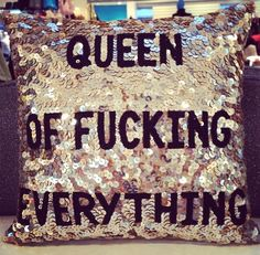 My kind of pillow!