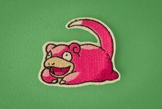 Slowpoke  Embroidered Ironon Patch Generation 1 by OKsmalls, $8.00