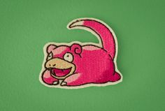 Slowpoke  Embroidered Ironon Patch Generation 1 by OKsmalls, $8.00