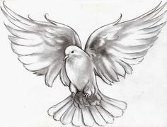 flying dove tattoo meaning