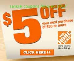 Home Depot coupons for february 2017