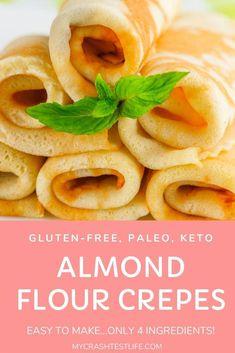 Crepe Recipes, Paleo Recipes, Low Carb Recipes, Paleo Food, Paleo Meals, Cooking Recipes, Paleo Diet, Vegetarian Paleo, Cooking Tips