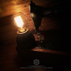 "MAKEITWORK STUDIO 2015 New item Beehive Table lamp Part 2 Target 2015 ""Work hard stay bumble"""