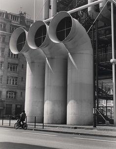 Centre Georges Pompidou, Paris, 1979.
