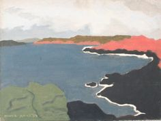 The Shoreline Oil on Panel by artist March Avery at Marin-Price Galleries