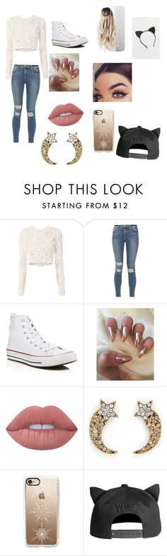 """""""Hannah stocking"""" by jwalker-4 ❤ liked on Polyvore featuring A.L.C., Frame, Converse, Lime Crime, Marc Jacobs, Casetify, H&M and Urban Outfitters"""