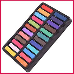 ПАСТЕЛЬ ДЛЯ ВОЛОС! Amazon.com: Hair Chalk Set - Best for Temporary Hair Color, Pastel Hair Effects and Ombre Hair Color. 24 Pack Hair Chalk Pastels