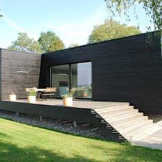 schroetter-lenzi Architekten: modern tarz Evler