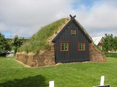 Turf house in Iceland