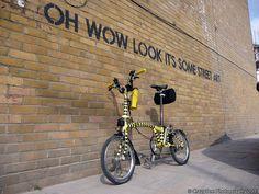 Street Art by Brompton Bicycle, via Flickr