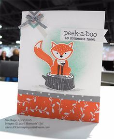 stampin up foxy friends - Google Search