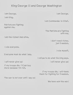 Sparking Student Motivation: Two Voice Poems (covers foundation of comparison and contrast; social studies topic; and poetry in language arts) Please Comment, Like, or Re-Pin for later 😍💞 college essay application examples, #college #essay #application #examples King George 111, Essay Writer, Warren Buffett, College Essay, Student Motivation, Social Studies, Language Arts, The Voice, Poems