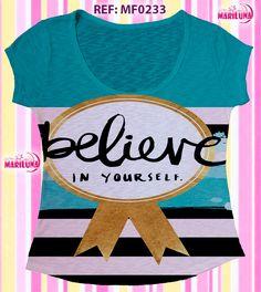 Blusa feminina, camisas, moda evangelica, camisas femininas, t-shirts, woman t-shirts, camiseteria, roupas da moda  http://mariluna.com.br https://www.facebook.com/pages/Mariluna-Moda-Feminina/377753308973251